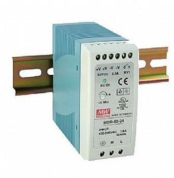 MDR- 60- 12 Meanwell 12Vdc 5A DIN Rail Mounting Power Supply