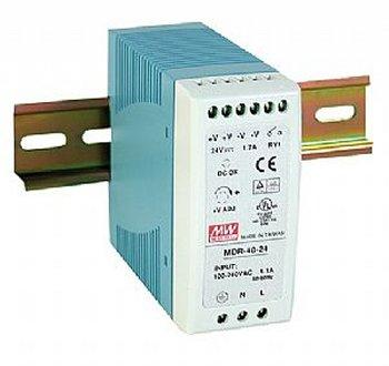 MDR- 40- 12 Meanwell 12Vdc 3.33A DIN Rail Mounting Power Supply