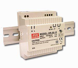 DR- 30- 12 Meanwell 12Vdc 2A DIN Rail Power Supply