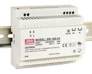 DR- 100- 12 Meanwell 12Vdc 7.5A DIN Rail Power Supply