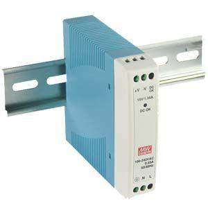 MDR- 10- 12 Meanwell 12Vdc 0.84A DIN Rail Mount Power Supply