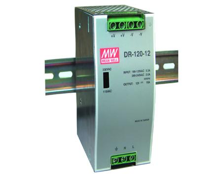 Meanwell DR- 120- 12 12Vdc 10A DIN Rail Power Supply